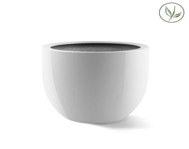Amsterdam Egg Pot XL (D65H54) glanzend wit