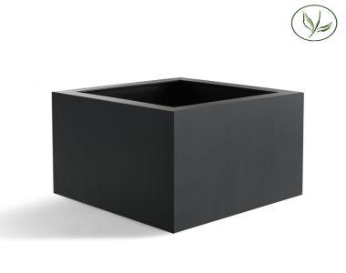 Amsterdam Low Cube L (80x80x60) Antraciet